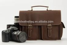 Handmade Genuine Leather DSLR Camera Bag