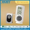 Новый дизайн 2015, Беспроводные Погодные Часы с термометром с настольной подставкой или настенные