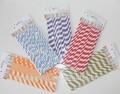 biodegradables paja de papel para la fiesta de la decoración de mesa