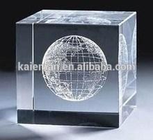 Clear Crystal 3d laser,K9 crystal laser engraving crystal cube