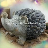 Garden Hedgehog Decoration Magnesia material