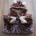 bebé infantil de invierno cálido piel sintética mameluco