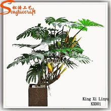 Different types of plants and trees living room indoor plants green artificial plant