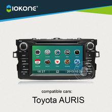 China supplier provide 7'' OEM GPS Navigon For Toyota Auris with Digital TV