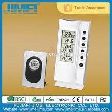 Digital Wireless temperature Weather Station wall Clock