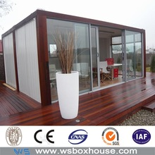 glass wall panel prefab container office for accommodation