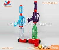 New style big water gun with bottle squirt gun