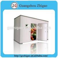 potato,meat,milk,fish,fruit cool room,freezer room,cold storage room