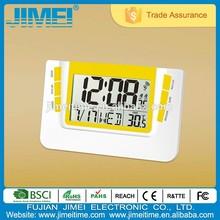RC LCD Wall Clock Decorative Clock