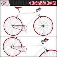 Factory Hot sale fixed gear road bike aluminum