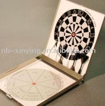 Hot selling aluminum magnetic dart game for travel