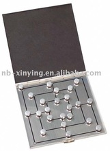 Aluminum Chess Game with Magnetic for travel