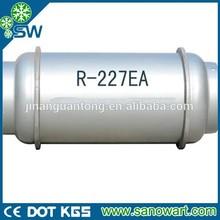 R227ea refrigerant gas used for extinguishant