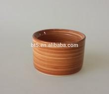 Ceramic handpaint brushed oil burner bowl