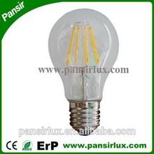 CE/ROHS/ERP led filament bulb dimmable 4w 6w 8w led 8w bulb e27 led bulb 8w filament light lamp