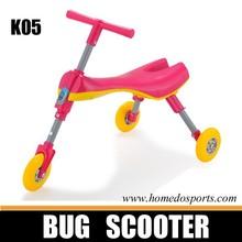 Flodable aluminum bug scooter