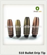 2014 Hot Selling product Ecig bullet drip tip 510 drip tips