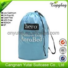 Natural cotton drawstring bags/custom drawstring bags/polyester drawstring bags