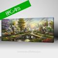 novo produto atacado paisagem pintura paisagem bonita aldeia da pintura