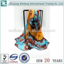 Caliente de China productos de venta al por mayor 100 de seda pura bufandas