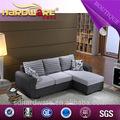 Moderne tissu canapé d'angle vente pour salon canapé 3 + 1 sièges