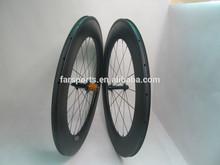 2015 new Clincher & Tubeless 23mm wide U shape Sapim cx ray ceramic bearing carbon 88mm clincher wheels (FSC88-CM-23)
