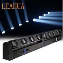 8 x 10 Watt LED Sweeper Light , led beam moving head