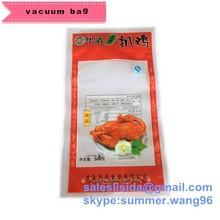 hot sale 3 side seal plastic roast chicken packaging bag