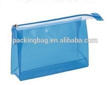 European standard low price zipper top colored soft PVC bag