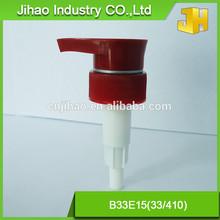Plastic lotion soap dispenser pump