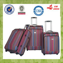 Pu luggage bag BV certificate China travel luggage factory price travel luggage Manufacturers