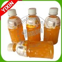 Orange juice drink with coconut