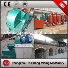 charcoal briquette machine plant specification/wood charcoal production line for oil palm