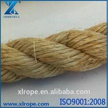 Natural Color Fiber Sisal Rope For Decorations