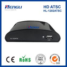 2015 Cheap best digital tv ATSC converter set top box for Mexico Market