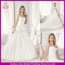 SD057 strapless new designer cheap bridal dress sexy 2015 wedding dresses made in usa