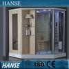 HS-SR079 diamond shower tray finland solid wood steam sauna room