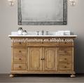 francés antiguo vintage cuarto de baño muebles de madera