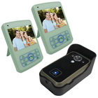 2.4G Wireless Apartment Video Door Phone Intercom System with Remote Door Release