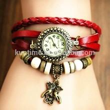 Fashion Womens Dress Watch Eiffel Tower Vintage Quartz Bracelet Wristwatch