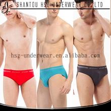 2015 Free samples high quality nylon spandex fabric mens novelty underwear mens thong underwear mens silk briefs