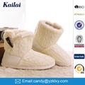 china fábrica de calçados tpr cashmere neve senhora sapato sapato