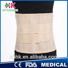 Elastic Back Pain Support Waist Belt back brace with CE & FDA certificate (Factory)