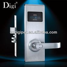 Smart door lock for hotel rooms