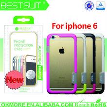 Mobile Phone Case Bumper Frame Tpu Silicone Phone Case