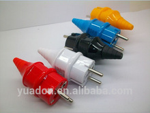 New products 2015 schuko Germany adapter plug
