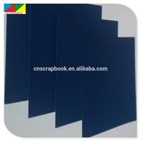 Dark colors pulp paper