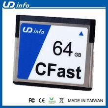 Industrial tarjeta de memoria Flash SLC SATA III 1 G ~ 64 G CFast