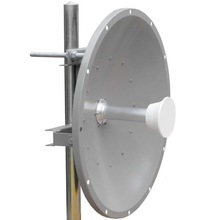 High Performance Long Distance WiFi 5.8GHz 28dBi MIMO Outdoor Parabolic Antenna with Feedhorn