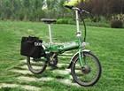 Trendy designed hidden battery Folding Electric solar Bike